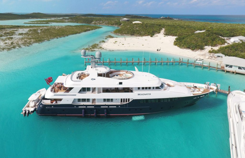 Broadwater Yacht in the bahamas