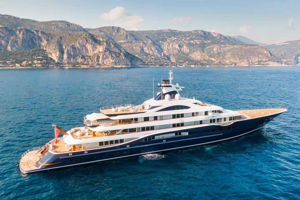 TIS yacht in Monaco yacht show