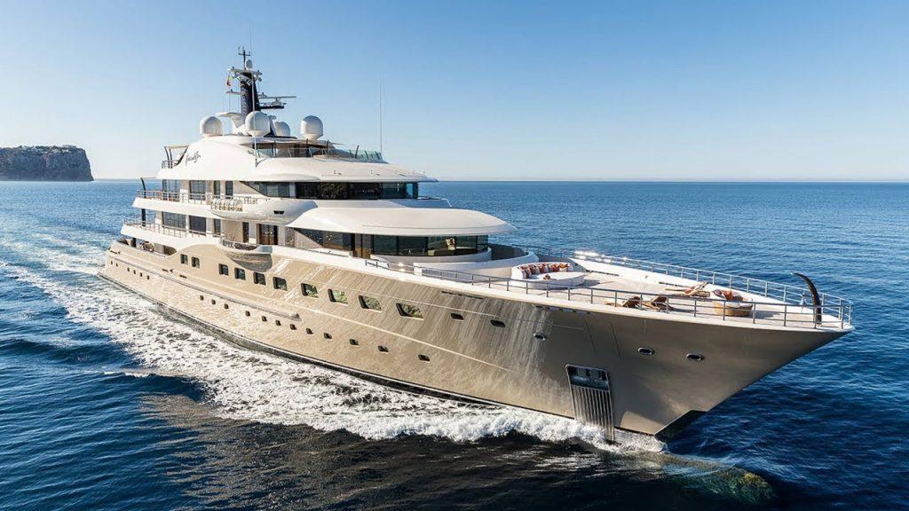 HERE COMES THE SUN yacht in Monaco